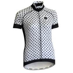 Dames Elite Wielershirt SMUDGE DOTS