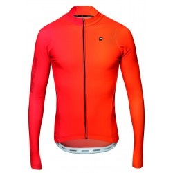 Thermal Rain Farbwechsel Rood Heren Wielershirt