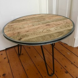 Tafel van Velg met pallethout