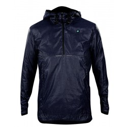 Gravel Hoody Windbreaker Marine Dames