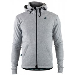 Gravel Zipped Hoody Heren