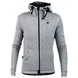 Gravel Zipped Hoody Dames
