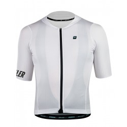 Signature3  Wielershirt WHITE Heren